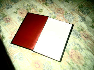 A hardcover book made by moi!