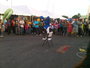 Entertainment at Building Expo 2013