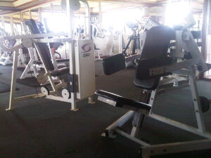 Snapshot of the gym