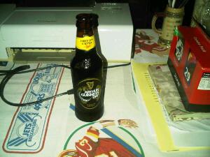 Dear old Arthur's brew.