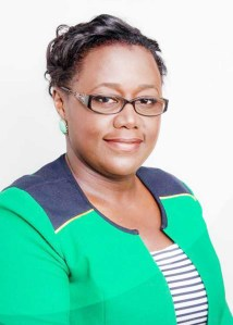 Junior Minister of Natural Resoures Simona Broomes/ Guyana Time image